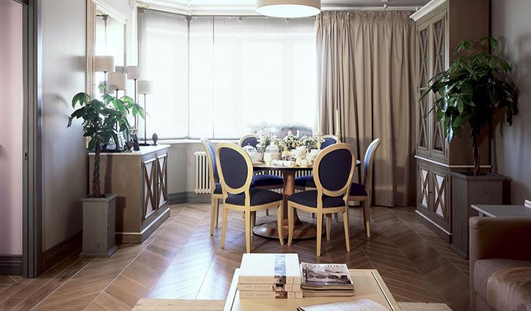 Квартира. столовая из проекта , фото №30011