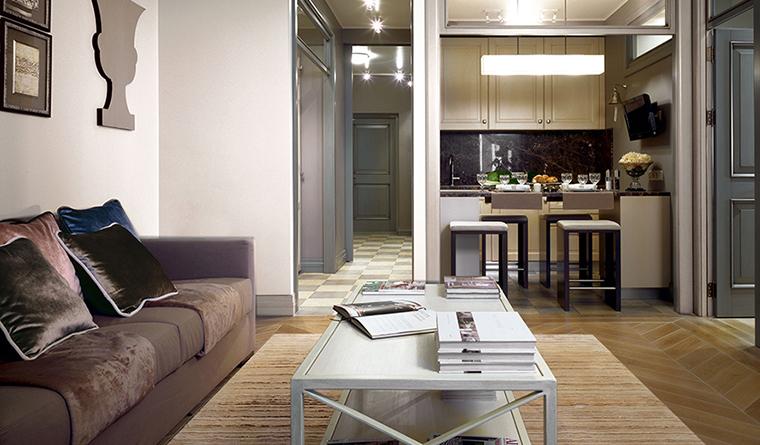 Квартира. гостиная из проекта , фото №30009
