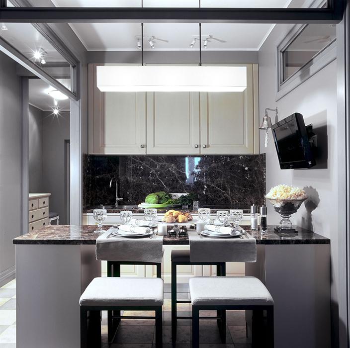 Фото № 30019 кухня  Квартира