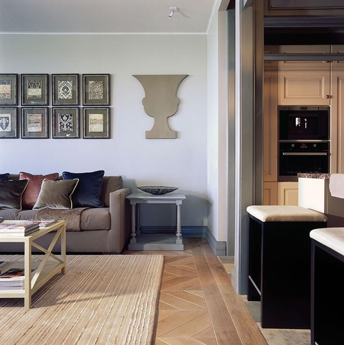 Квартира. гостиная из проекта , фото №30010