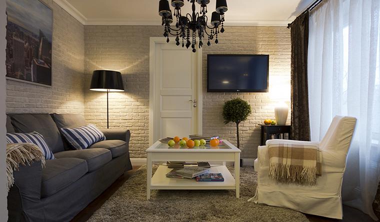 Фото № 30038 гостиная  Квартира