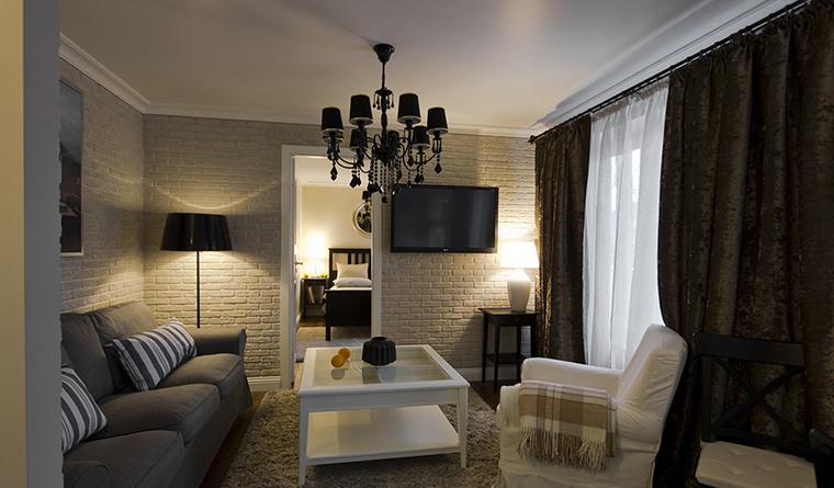 Фото № 30035 гостиная  Квартира