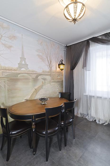 Квартира. кухня из проекта , фото №30142