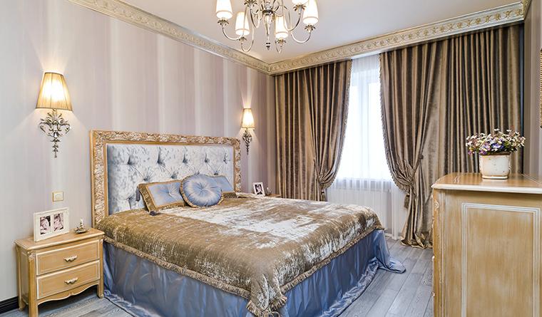 Квартира. спальня из проекта , фото №30147