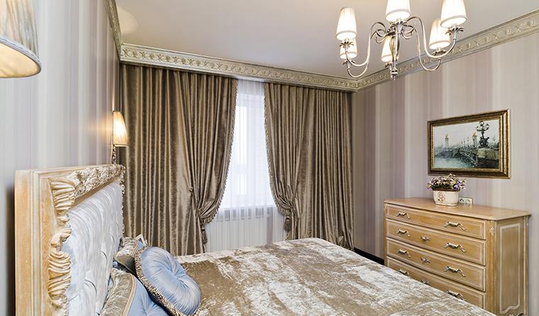 Квартира. спальня из проекта , фото №30145