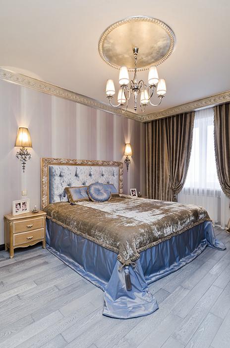 Квартира. спальня из проекта , фото №30146