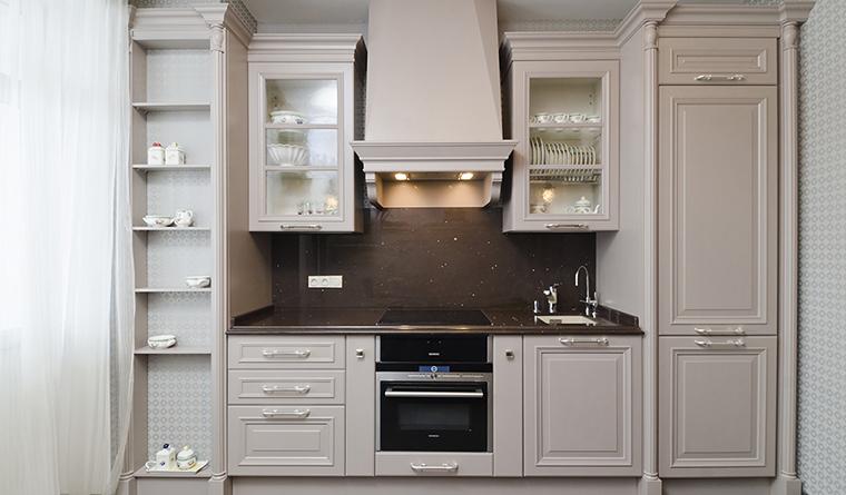 Квартира. кухня из проекта , фото №30139