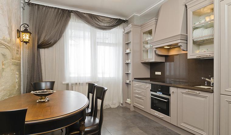 Квартира. кухня из проекта , фото №30140