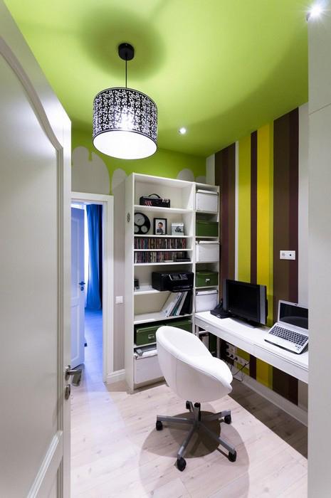Квартира. кабинет из проекта , фото №30235