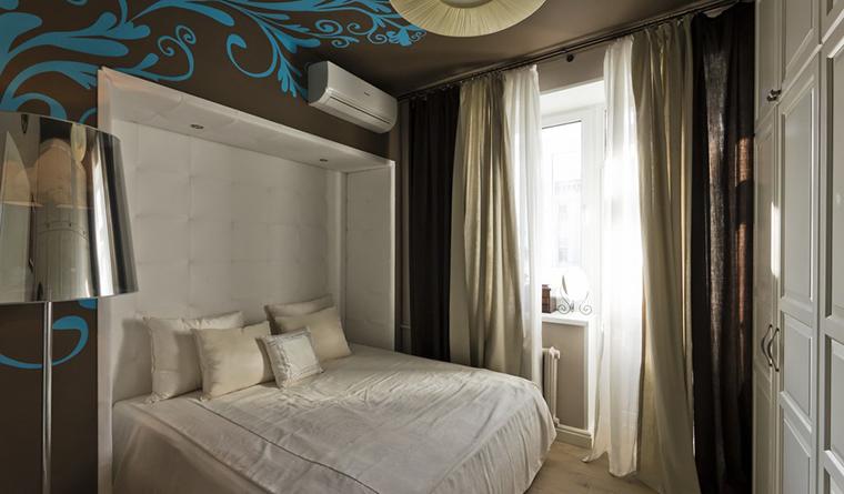Квартира. спальня из проекта , фото №30232