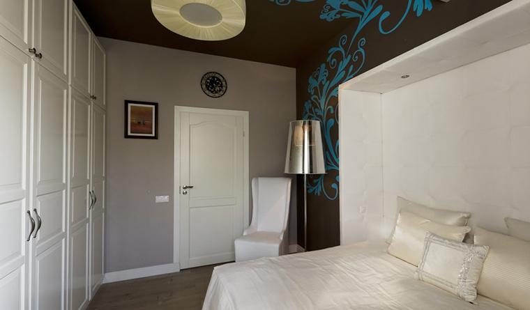 Квартира. спальня из проекта , фото №30234