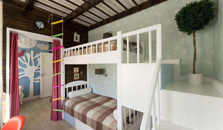 Квартира. детская из проекта , фото №30243