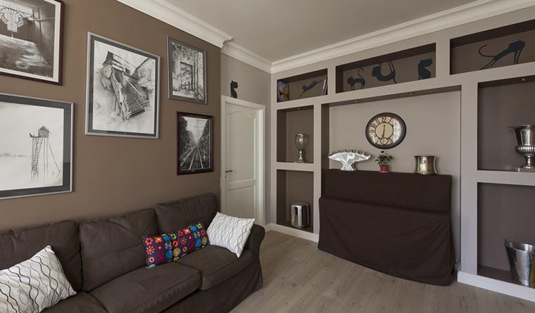 Квартира. гостиная из проекта , фото №30226