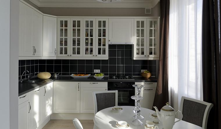 Квартира. кухня из проекта , фото №30230