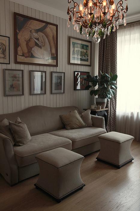 Квартира. гостиная из проекта , фото №30250
