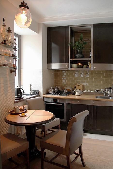 Квартира. кухня из проекта , фото №30258