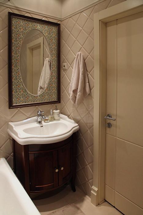 Квартира. ванная из проекта , фото №30260