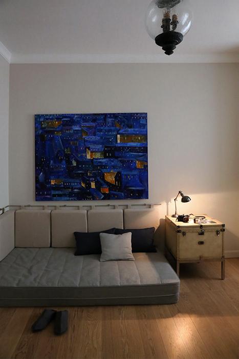 Квартира. спальня из проекта , фото №30254