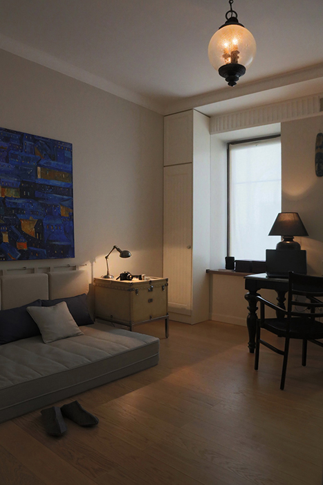 Квартира. спальня из проекта , фото №30255