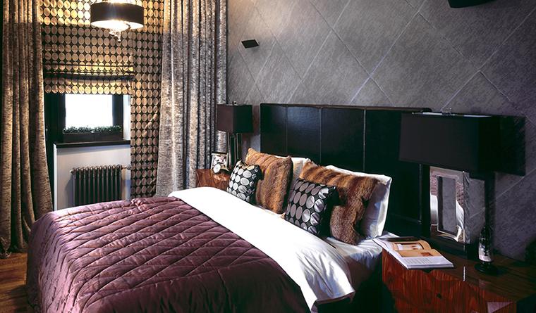 интерьер спальни - фото № 30267
