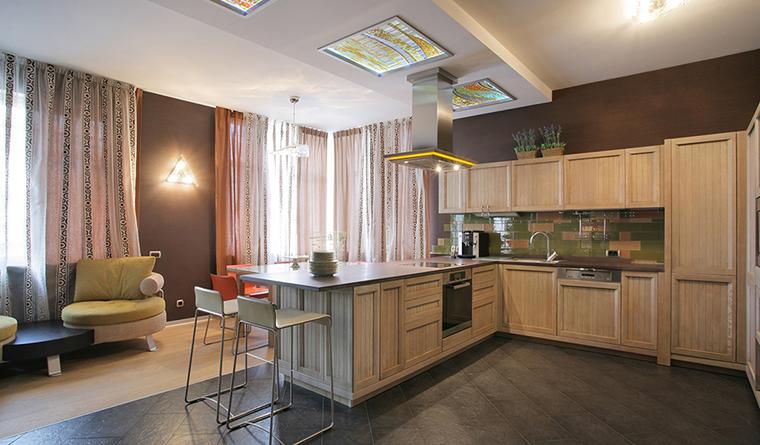 интерьер кухни - фото № 30307