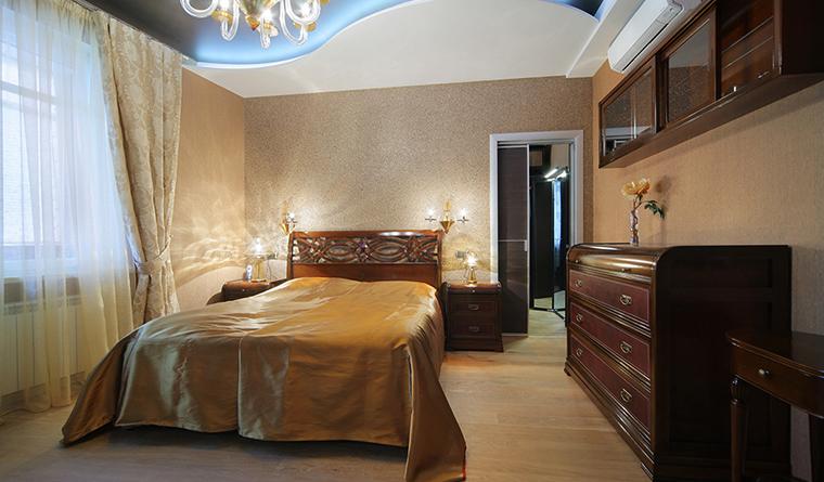 Квартира. спальня из проекта , фото №30309