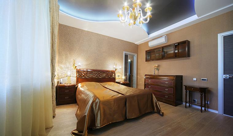 Квартира. спальня из проекта , фото №30310