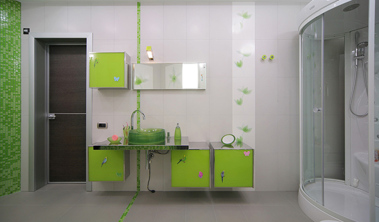 Фото № 30320 ванная  Квартира
