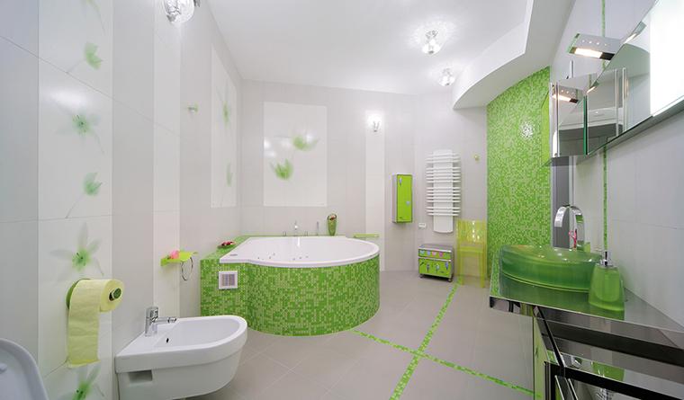 Фото № 30321 ванная  Квартира