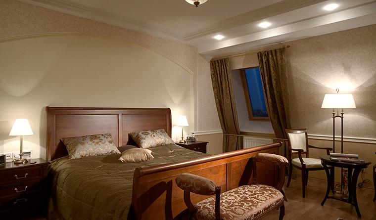 Квартира. спальня из проекта , фото №30341