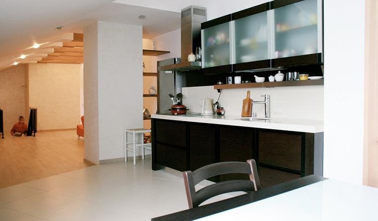 Квартира. кухня из проекта , фото №30402