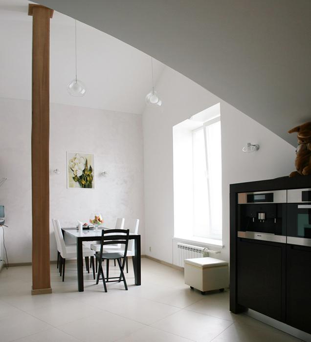 Квартира. кухня из проекта , фото №30404