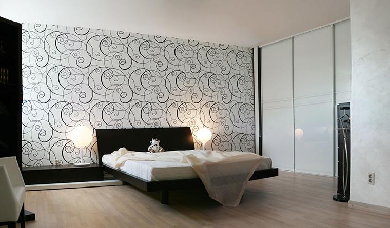 Квартира. спальня из проекта , фото №30405