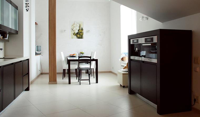 Квартира. кухня из проекта , фото №30401