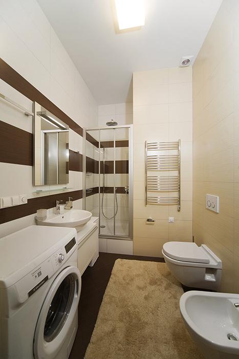 Квартира. ванная из проекта , фото №30478
