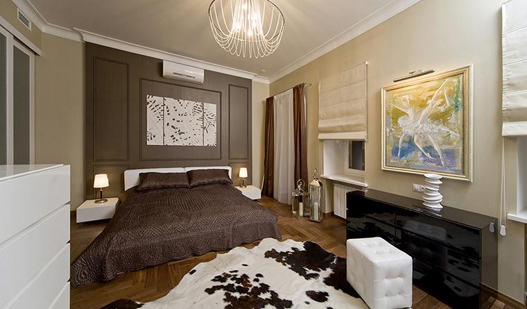 интерьер спальни - фото № 30463