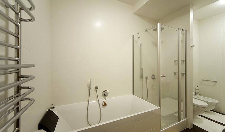 Квартира. ванная из проекта , фото №30477