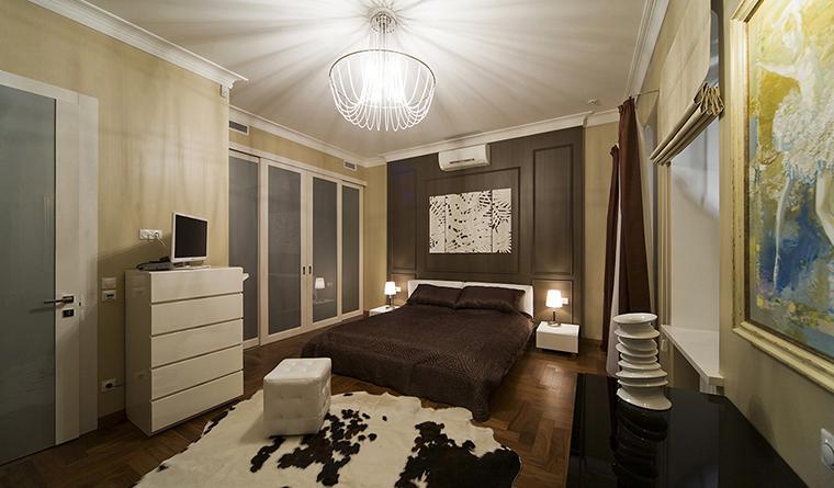 интерьер спальни - фото № 30464