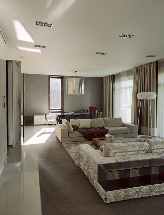 Фото № 30481 гостиная  Квартира