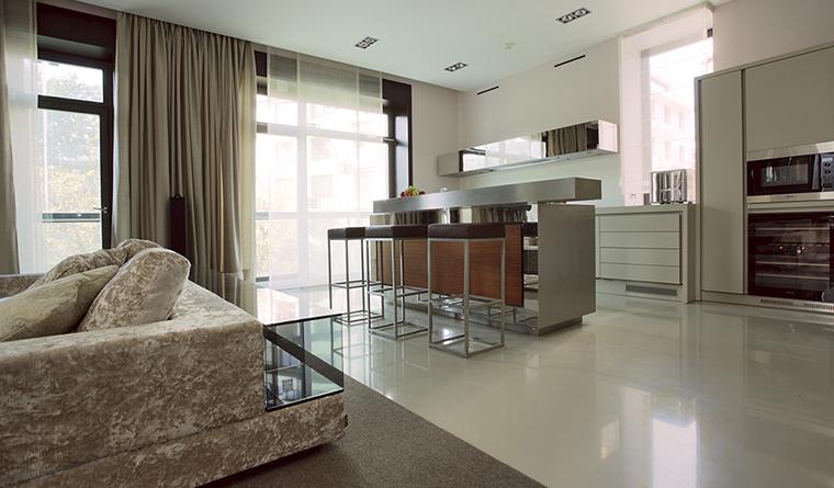 Фото № 30486 кухня  Квартира