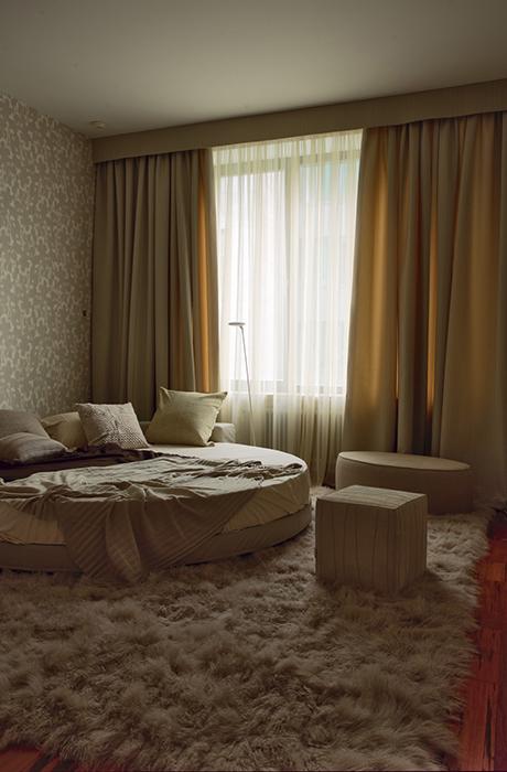 Квартира. спальня из проекта , фото №30488