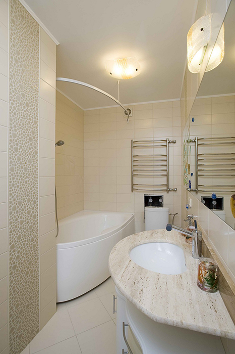 Квартира. ванная из проекта , фото №30523