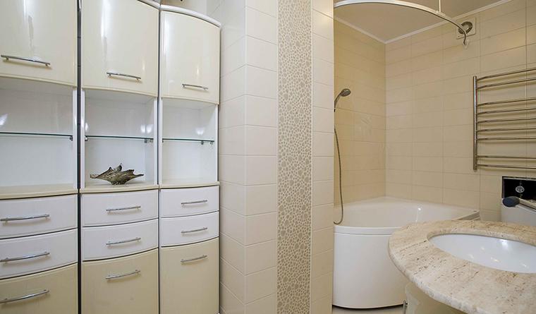 Квартира. ванная из проекта , фото №30525