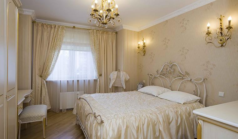 интерьер спальни - фото № 30518