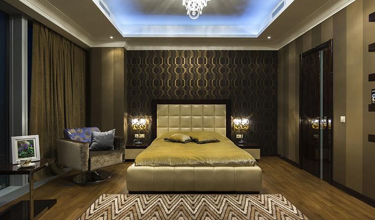 Квартира. спальня из проекта , фото №30542