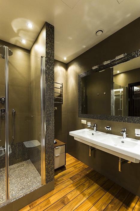 Квартира. ванная из проекта , фото №30549