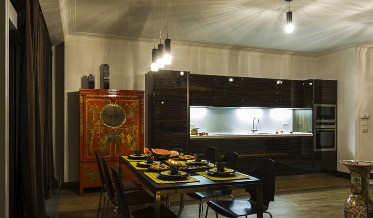 Квартира. кухня из проекта , фото №30540