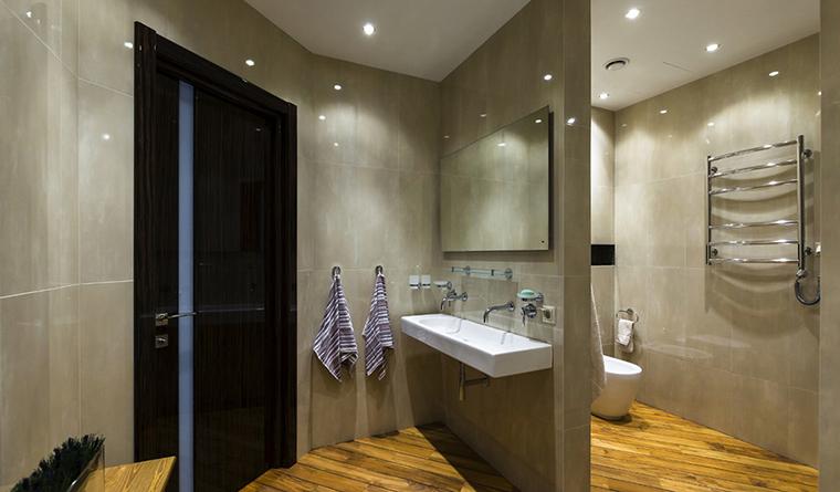 Квартира. ванная из проекта , фото №30546