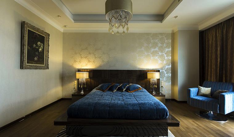 интерьер спальни - фото № 30541