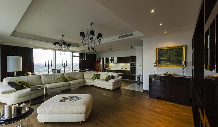 Квартира. гостиная из проекта , фото №30536